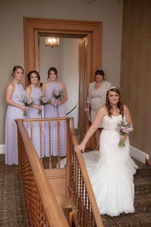 Bride, Bridesmaids, Mother of the Bride, Bridal Party Arrival