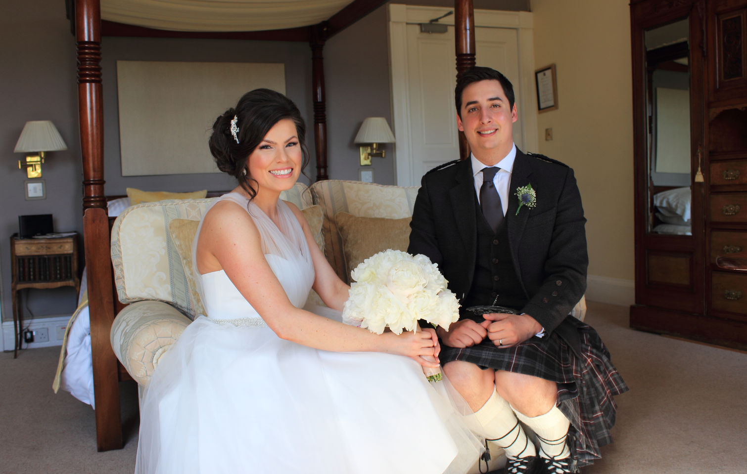 Natural, relaxed, fun wedding photography Aberdeen and surrounding areas