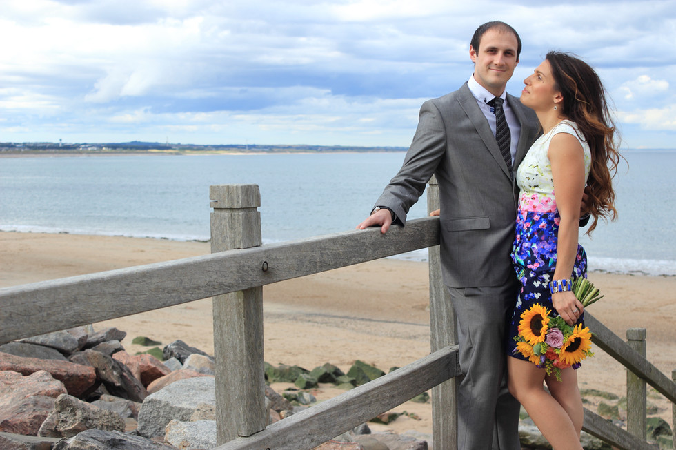 Aberdeen Beach Wedding Photography