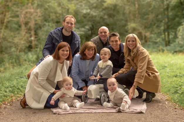 family photography aberdeen, grandchildren, generations, family