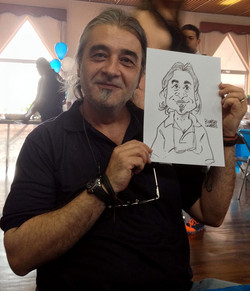 Caricatura em papel 2