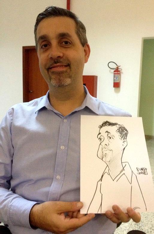 Caricatura em papel 3
