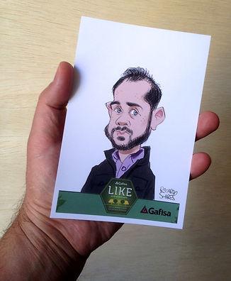 Studio Ricardo Soares/Caricatura Digital em Papel Fotográfico