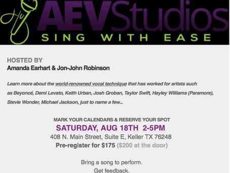 AEVStudios & AMG Vocal Workshop
