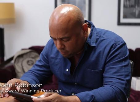 Jon-John Robinson Recording Hip Hop on iPad with Apogee ONE