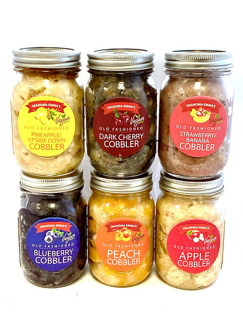 Pick-Ur-Mix Cobbler in a Jar: 2 Count