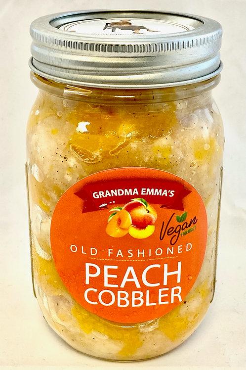 Peach Cobbler in a Jar: 2 Count
