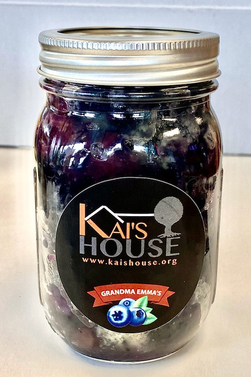 Kai's House Blueberry Cobbler in a Jar: 2 Count