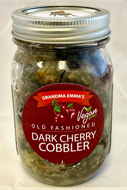 Dark Cherry Cobbler in a Jar: 2 Count