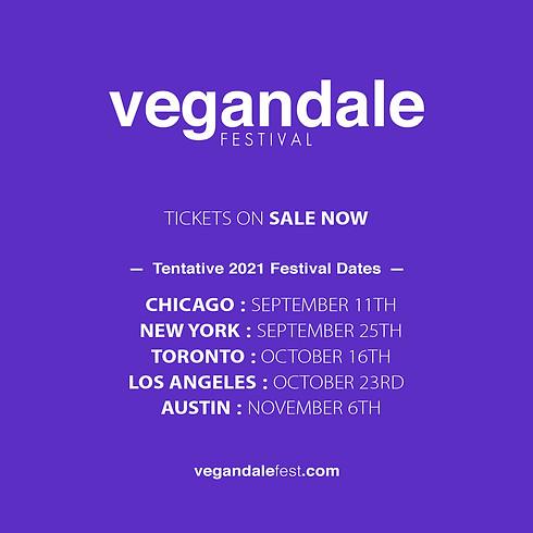 Vegandale Festival September 25th