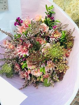 Bouquet du mois de novembre : la vie en rose