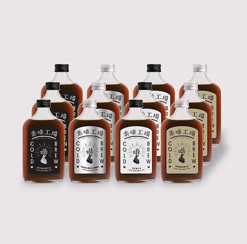 Sofe Cold brew - 12 bottles (All Tastes)