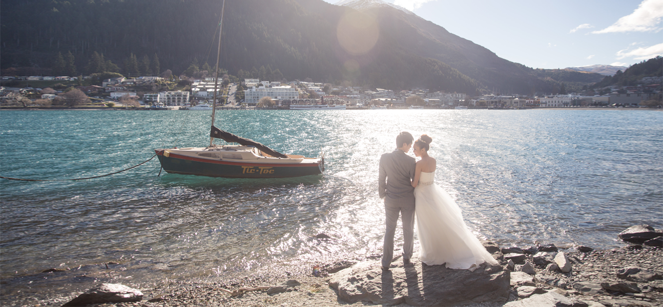 New Zealand pre-wedding engagement