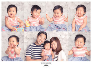 Baby & Family Portrait - Baby Hailey