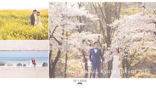 2016 濟州 / 首爾 / 京都 櫻花 pre-wedding
