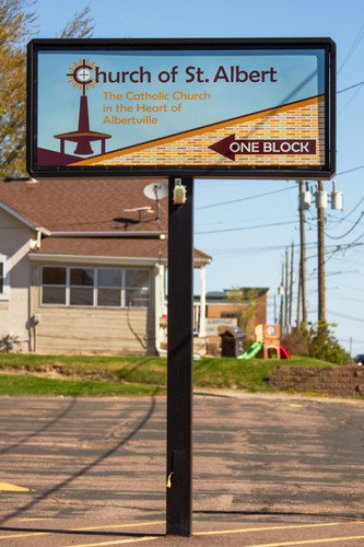 Church of St. Albert Pylon Albertville.j