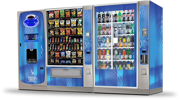 Coffee machine, Snack machine and Drink Vending Machines