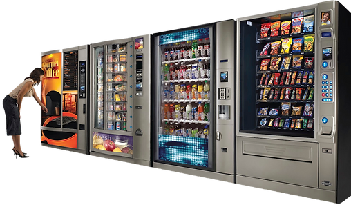 South Carolina, North Carolina, and Georgia Vending Services Vending Machines