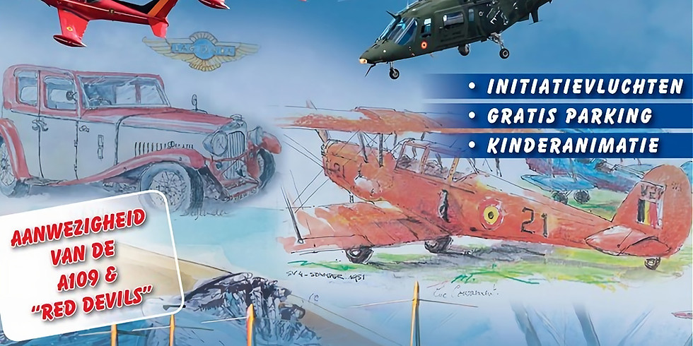 Diest Aero Club – Diest (B) International Oldtimer Fly/Drive In