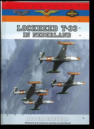 Lockheed T-33 in Nederland