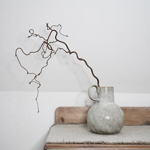 Tall Earthenware Vase