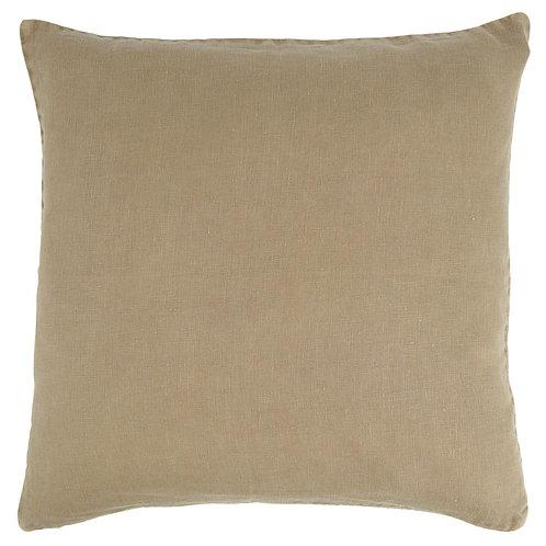 Linen Cushion Nude