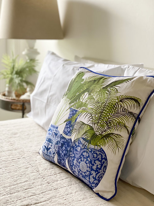 Potted Palms Cushion