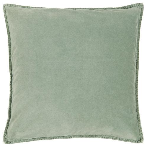Velvet Cushion Seafoam