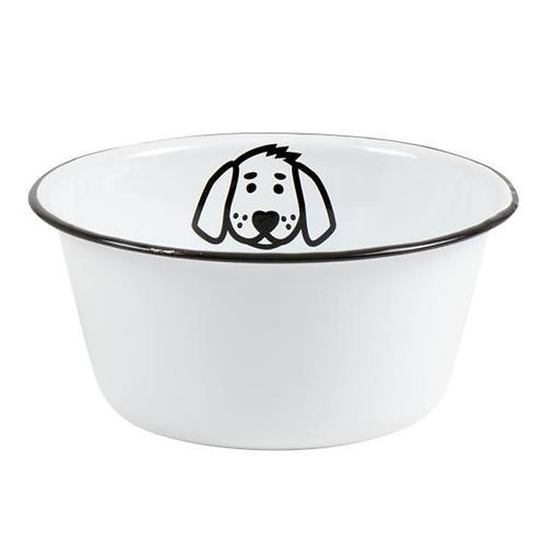 Enamel Dog Bowl Small