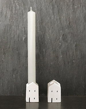 Mini House Candle Holder