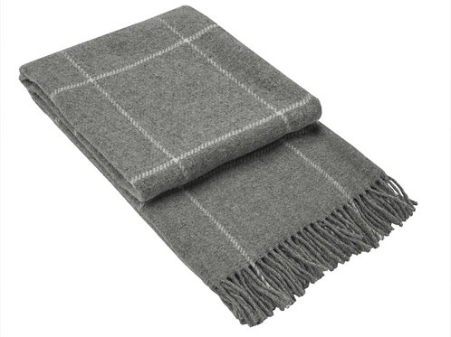 Wool Blanket Grey