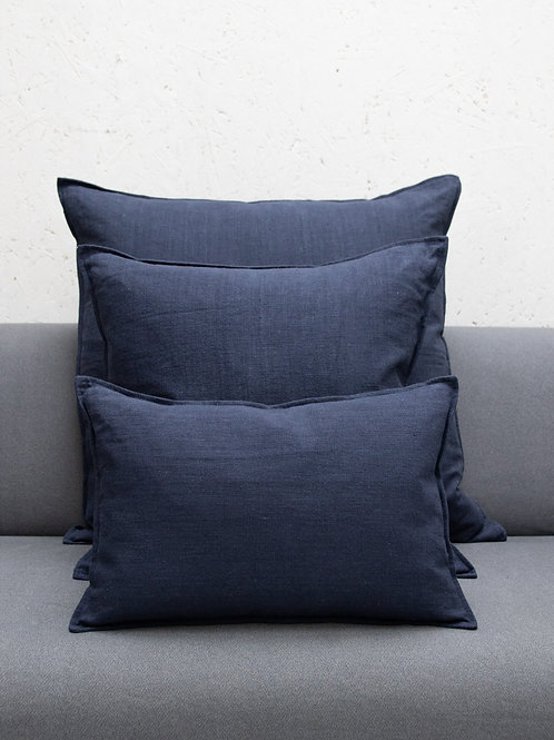 Navy Cotton Cushion
