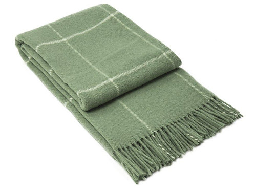 Wool Blanket Green