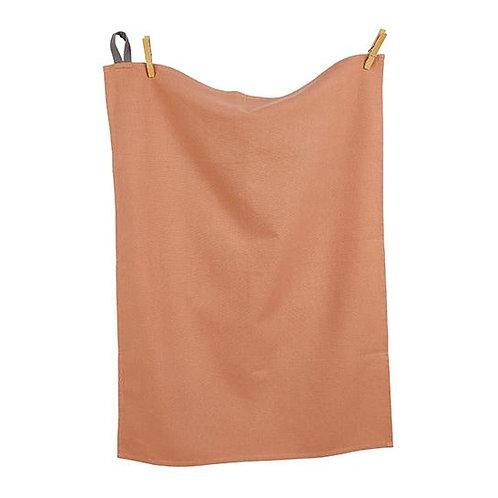 Cotton Tea Towel Terracotta