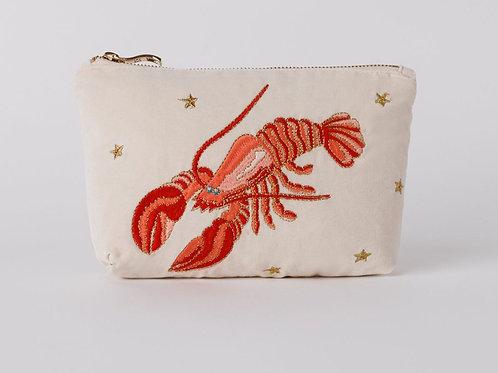 Elizabeth Scarlett Lobster Makeup Bag