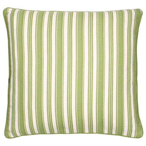 Spring Green Stripe Cushion