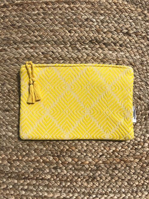 Mini Miami Clutch Bag Yellow