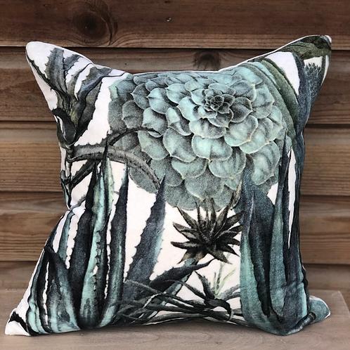 Velvet Succulent Cushion