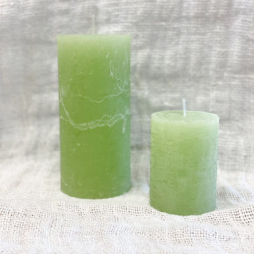 Rustic Candle Apple