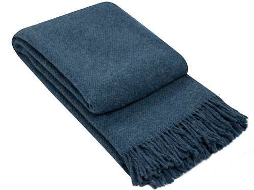 Wool Blanket Navy