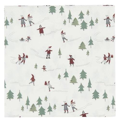 Christmas Fairytale Paper Napkin
