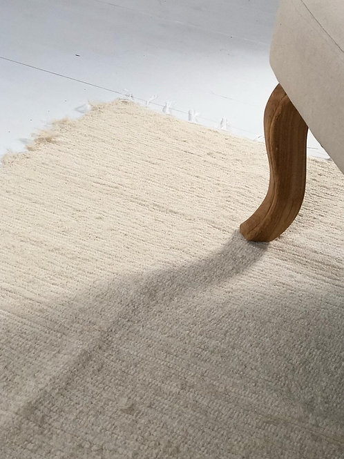 Handwoven Recycled Cotton Rug