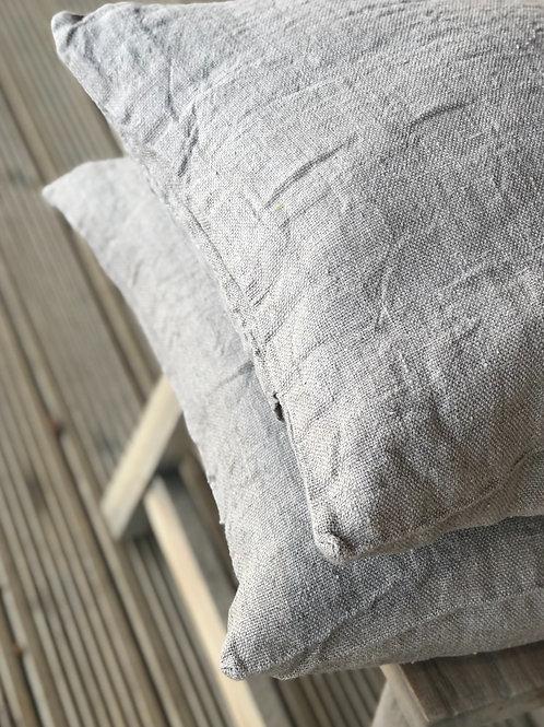Raw Linen Cushion