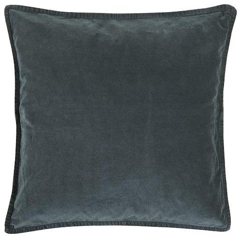 Velvet Cushion Dark Blue