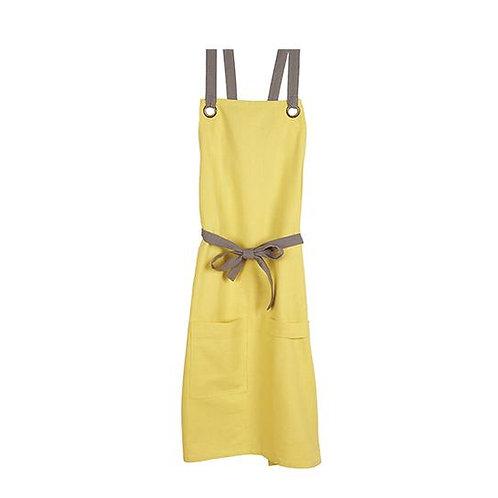 Barista Style Apron Tuscan Yellow