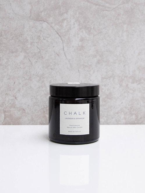 Chalk Lavender & Geranium Candle