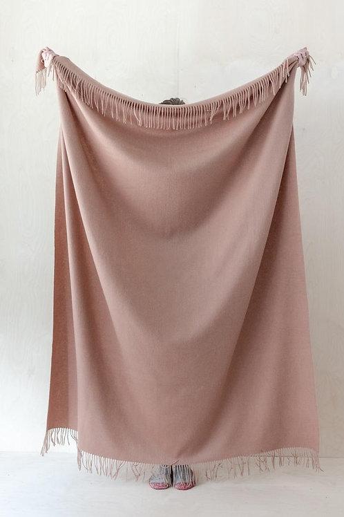 Lambswool Blanket Blush
