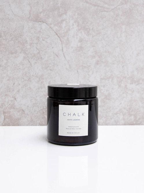 Chalk White Jasmine Candle