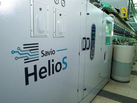 HELIOS - Nueva solución SAVIO para hilatura OPEN END