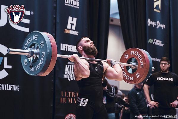 joe vancleve, strength coach, dc strength coach, dc weightlifting coach, powerlifting coach